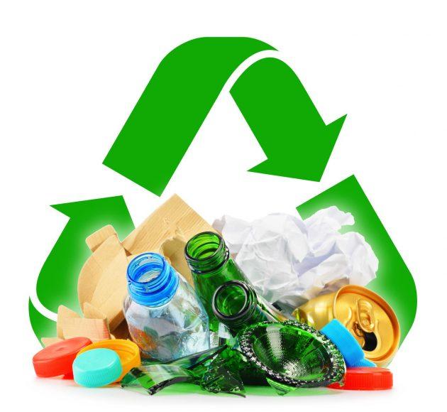 Recycling-trash